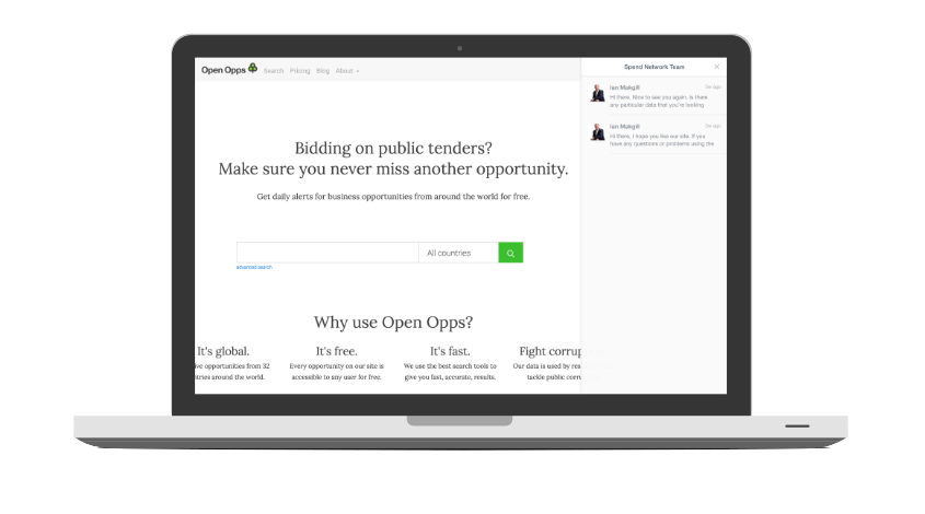 Open opps subscribers get help to optimise their alerts.